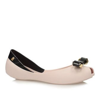 Balerinki Melissa 31695 Queen Pink/Black