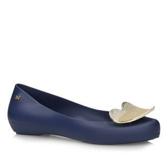 Balerinki Zaxy Pop Heart Fem 82002 Navy