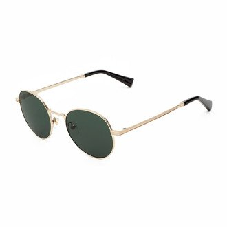 Okulary Hawkers Gold Green Bottle Moma2