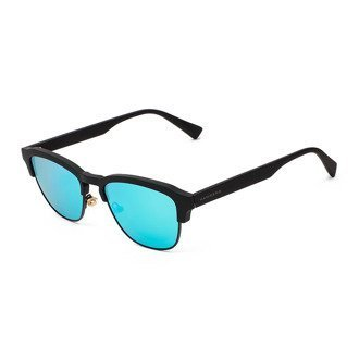 Okulary Hawkers Rubber Black Clear Blue Classic