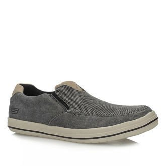 Półbuty Slip On Skechers 64628/CHAR