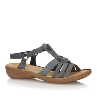 Sandały Remonte Rieker D6768 14 LIZURAJ