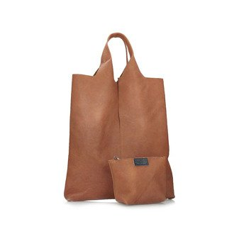 Torebka shopper bag Toscanio A64 rudy