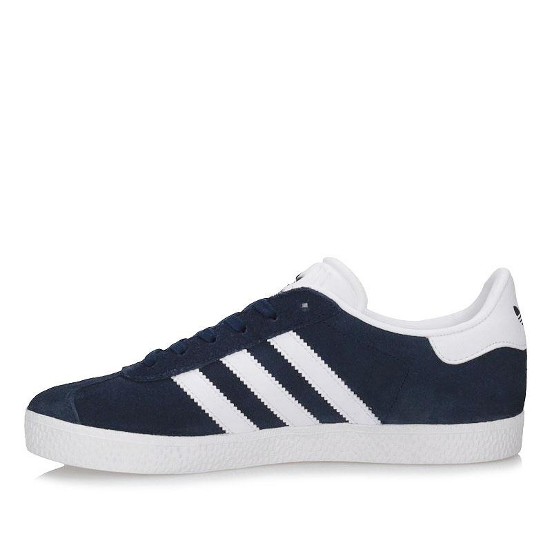 Obuwie sportowe Adidas GAZELLE J BY9144 granat