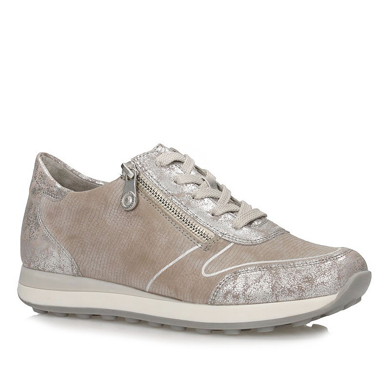 e64ab3ad5b5f Półbuty Sneakersy Rieker N1821-90 12139