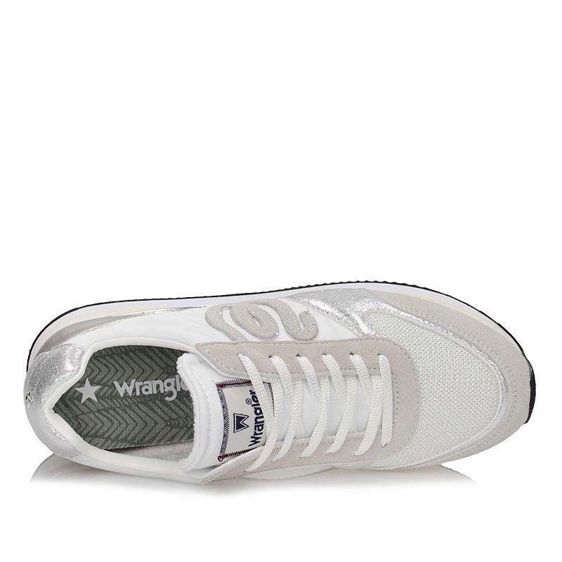 Półbuty Wrangler damskie WL91530A Białe