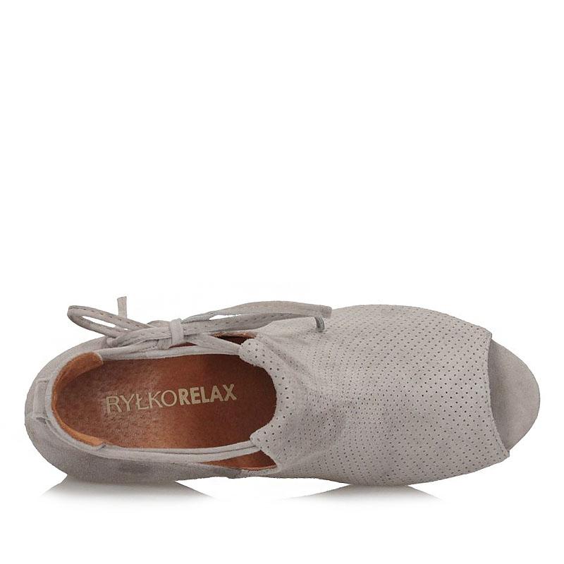 0c8e8c59 Półbuty sandały Peep Toe Ryłko 6HLP5K2 12350 | Sklep Obuwie-Lizuraj.pl