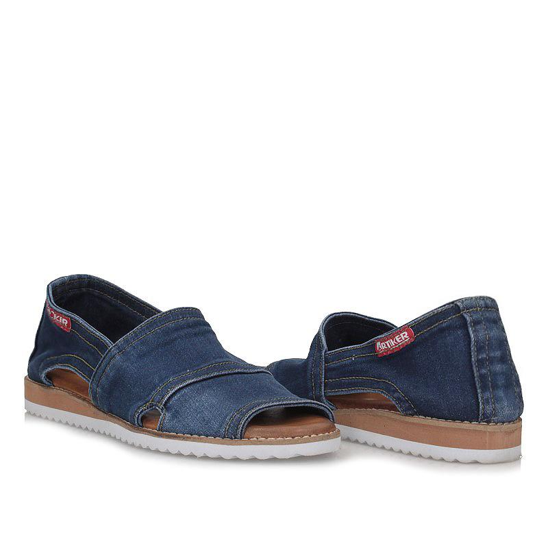 Sandały Lanqier 40C290 jeans