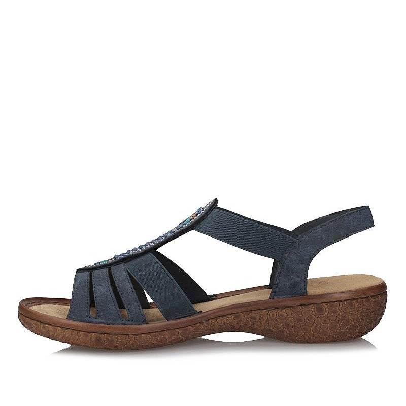 Sandały damskie Rieker V69G7 14 | Sandały