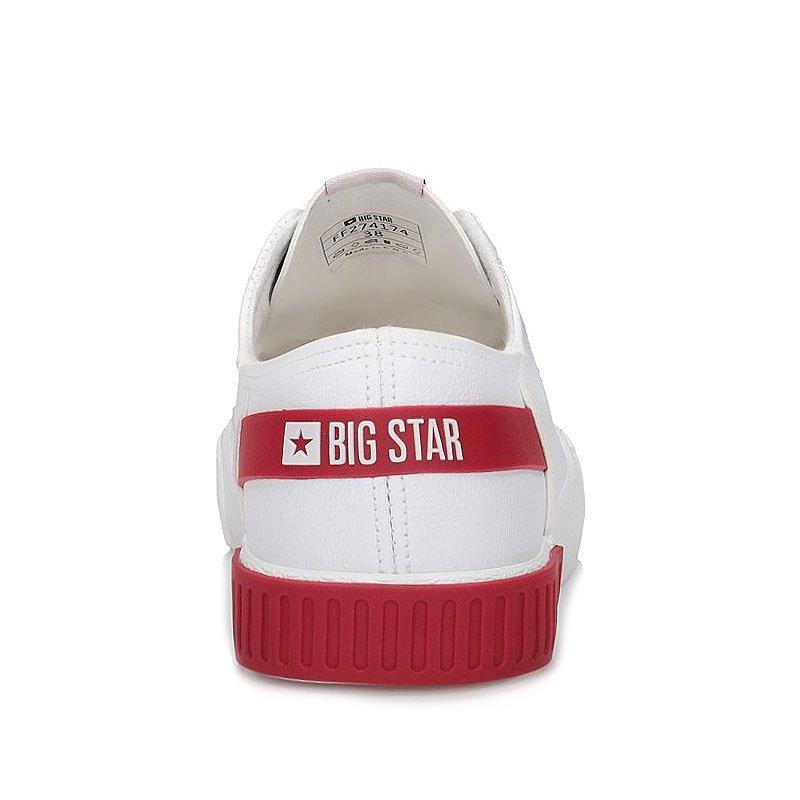 Tenisówki trampki Big Star FF274174 białe